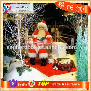 christmas decorations animatronic life size santa claus model - Animatronic Christmas Decorations