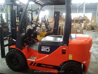 2 tons forklift truck/FD20 diesel engine manual fork lift china