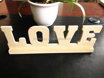 Wholesale wooden decorative alphabet letter