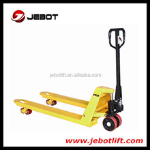 China good quality 3ton nylon wheel hand pallet truck for sale
