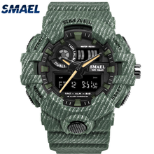 Smael fabriek SL8001 mannen militaire <span class=keywords><strong>camouflage</strong></span> sport custom digitale <span class=keywords><strong>horloge</strong></span>