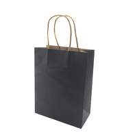 Brown kraft paper gift bags wedding candy packaging recyclable jewelry food bread shopping party bags for boutique