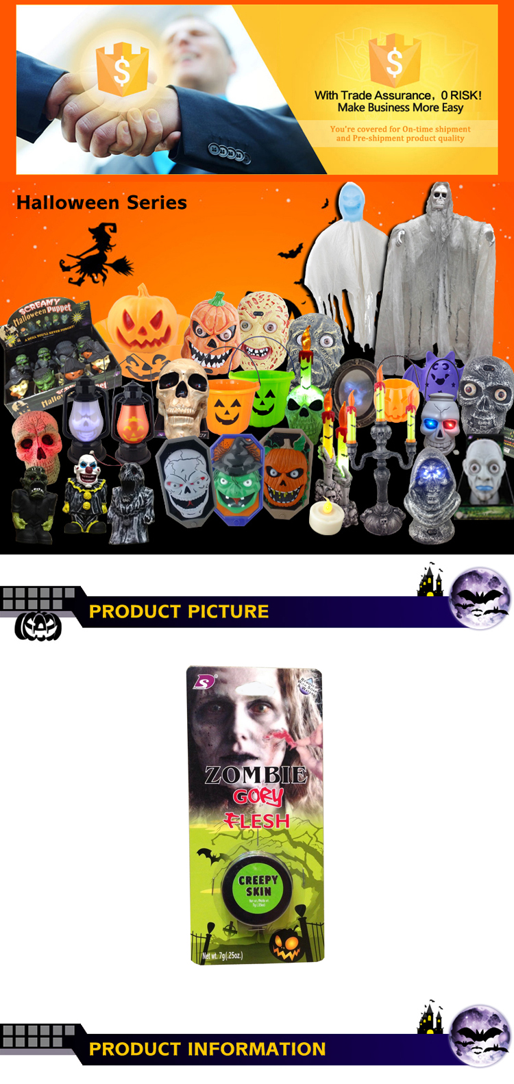 Halloween Party Supplies Cute Fun Party Halloween Decorations