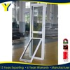Energy efficient double glazing aluminium single hung window