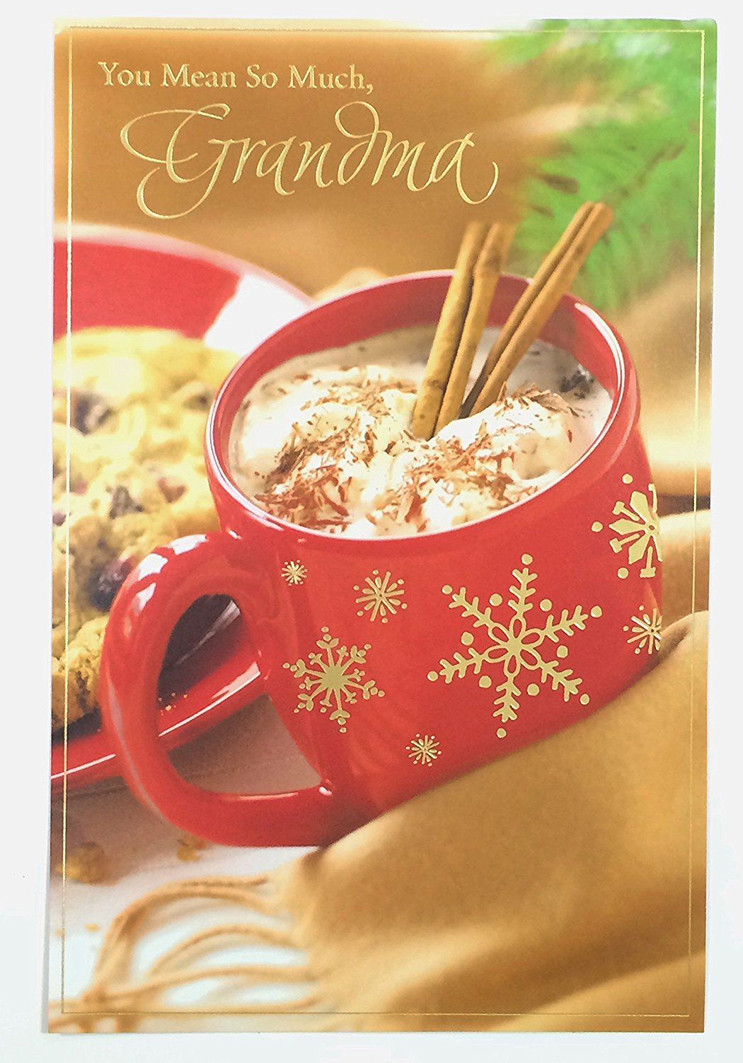 get quotations christmas cards for grandmother you mean so much grandma - What Does The Word Christmas Mean