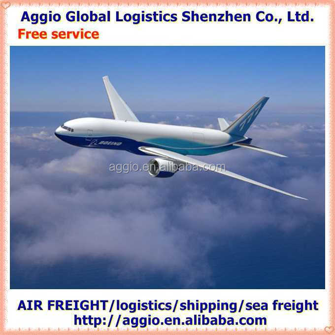 Air freight and express forwarder for silicone material acrylic brush air logistics