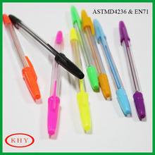High quality colored Ink gel pen for promotion