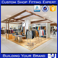 Designer 2016 POP Garment Store Displays For Clothing Retailer