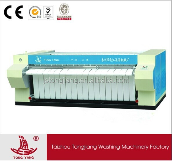 TONG YANG hotel linens Iron Press Machines with double rollers