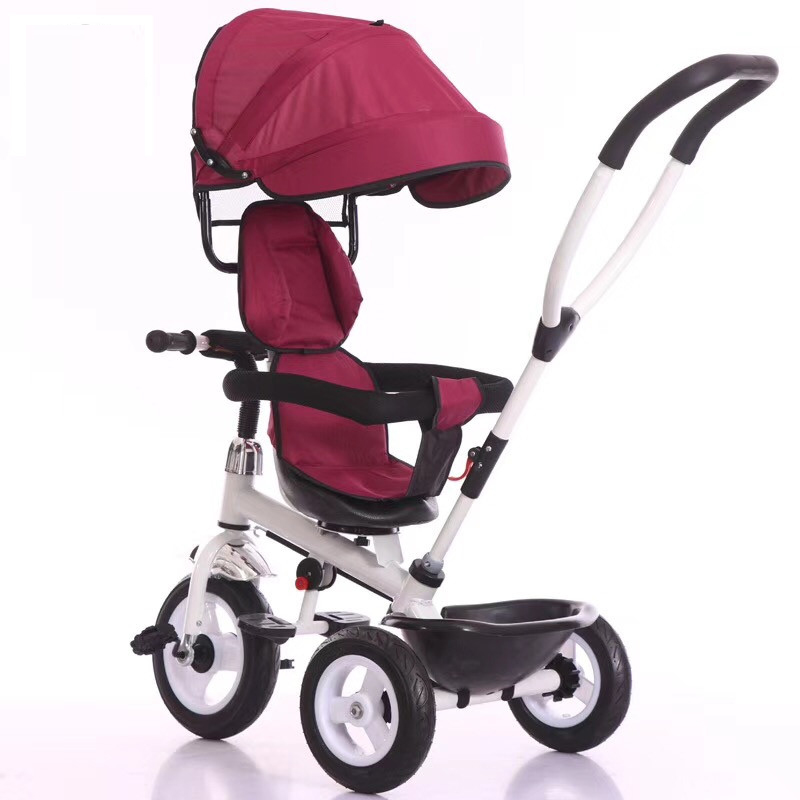 factory directed kids ride on children tricycle with push handle new products kids plastic ride on baby 3 wheel tricycle