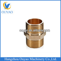 china factory brass pipe fitting/brass plumbing material pipe fitting/copper nipple fitting