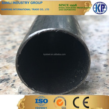 Prime furnature round tube black ERW welded anneal mild round hollow section steel pipe