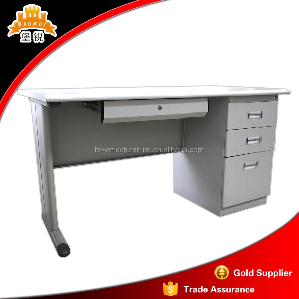 office furniture steel computer table metal frame executive desk