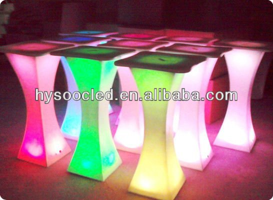 led cyber cafe furniture table