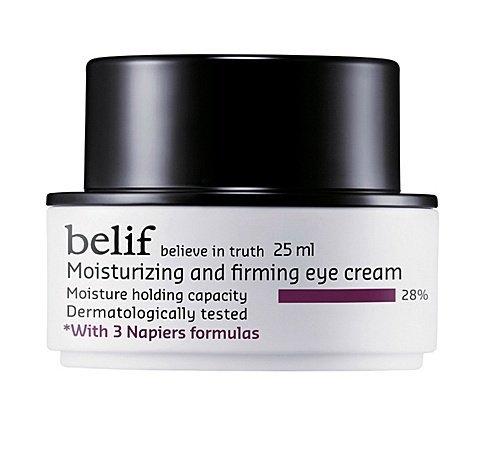 KOREAN COSMETICS, LG Household & Health Care_ belif, Moisturizing and Firming Eye Cream (25ml, Long lasting, high-moisturizing and firming)[001KR]