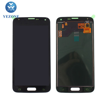Suppliers LCD For Samsung Galaxy S5 Display i9600 SM-G900 G900F G900T LCD Screen Replacement 5.1 inches