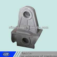 customized steel casting holding parts for forklift fittings