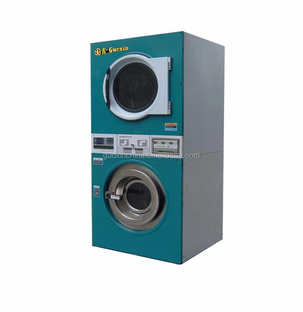 Commercial washer and dryer, Laundromat washer and dryer
