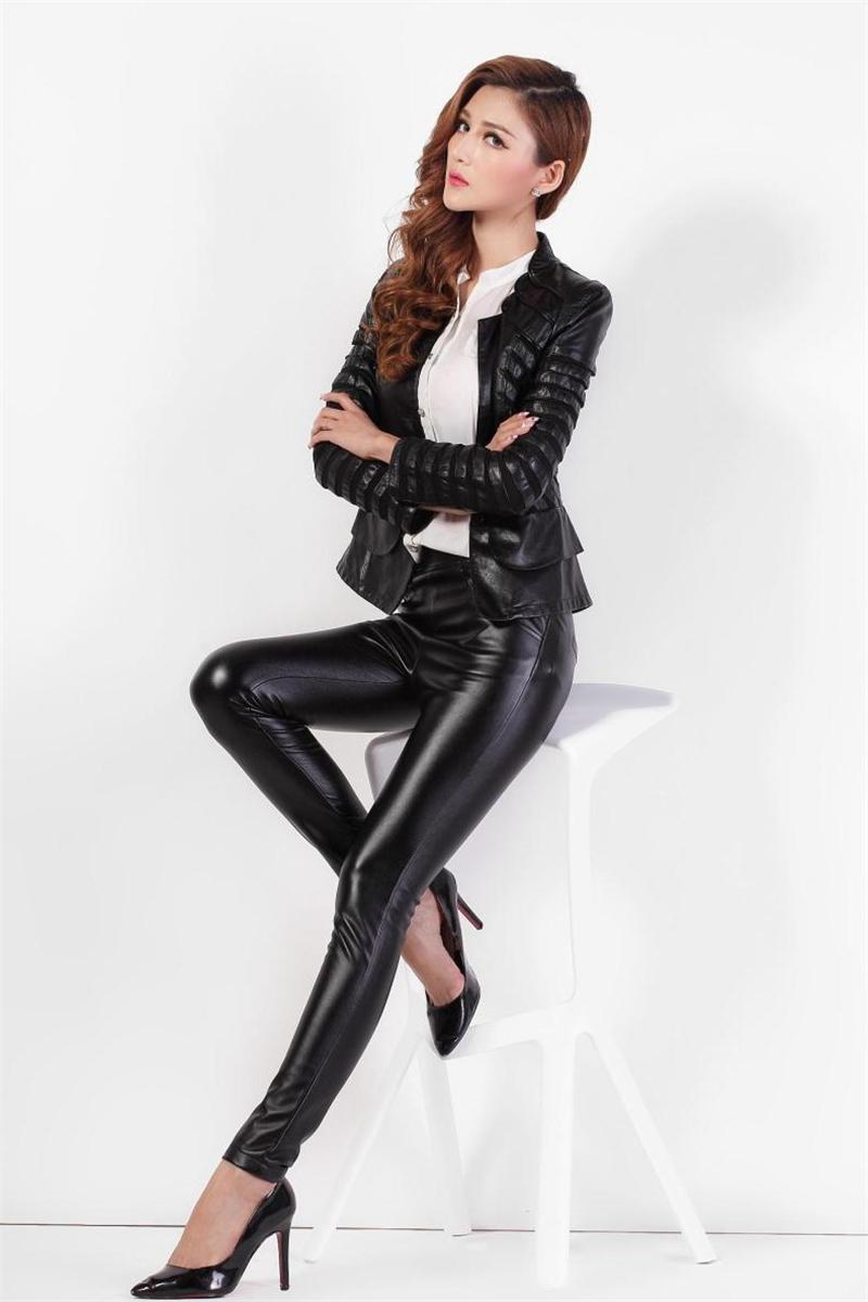 Women Leather Pants 14
