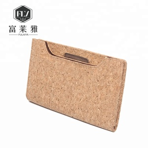 High quality latest smart purses bag cool long cork wallet for men