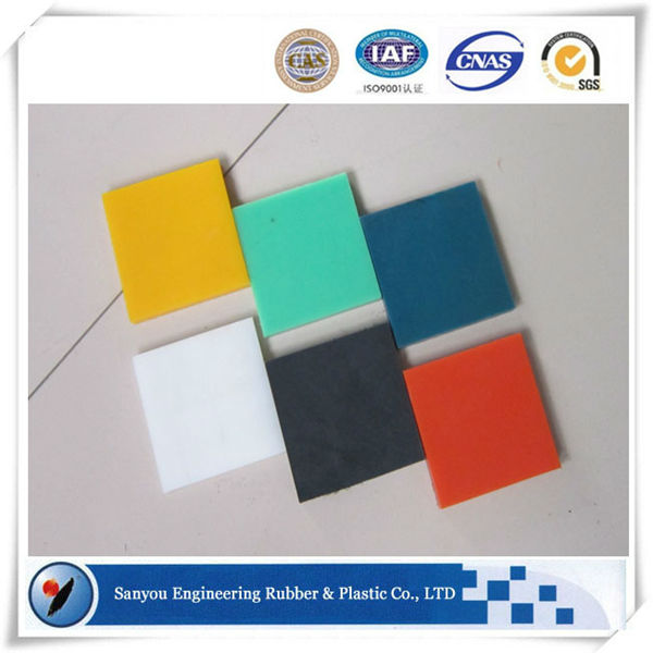 hig wear resistance UHMW PE polymer sheet for parts procession