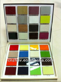 High Gloss Uv Solid Color Mdf Board Sheet Buy Uv Mdf