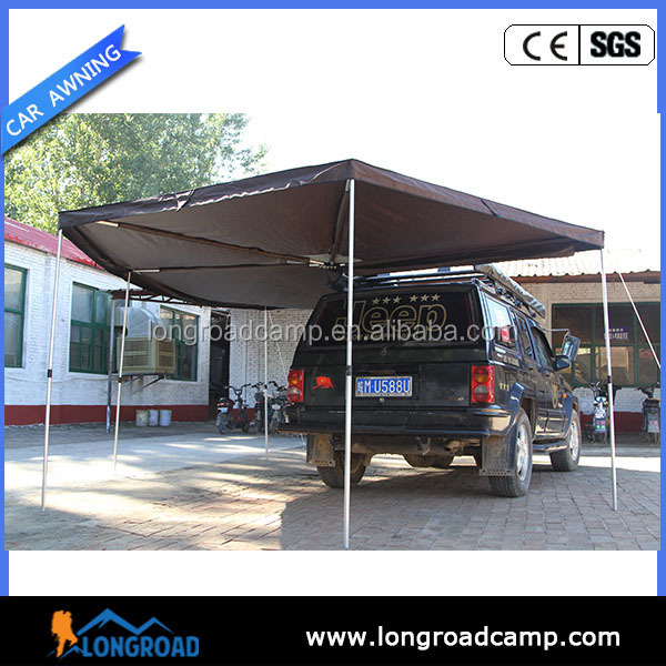 2017 Waterproof Polyester Oxford Roll Out Car wing Awning For Sale
