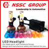 Trustworthy portable led auto headlight sx-s21 24W 2400LM 9004 led headlights