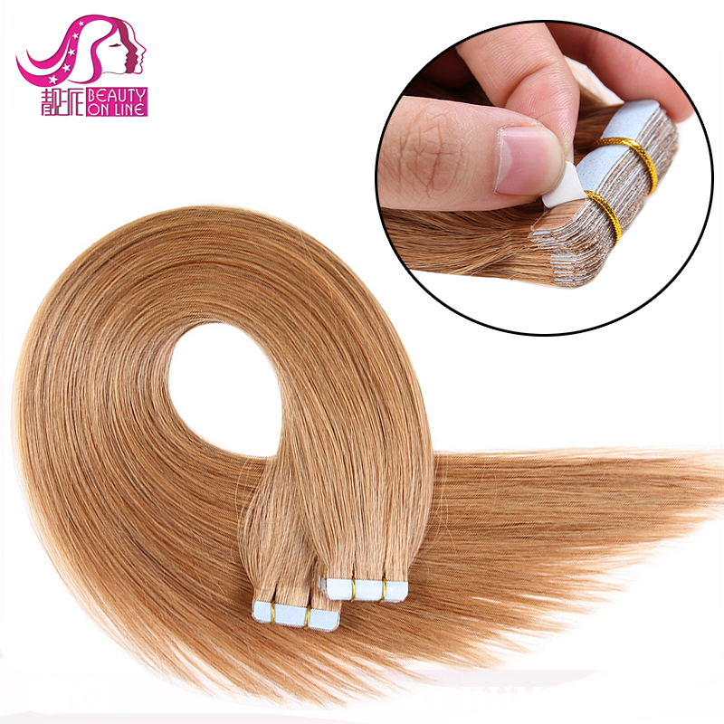 Wholesale Remy Tape Hair Extensions Adhesive Tape In Hair Balayage