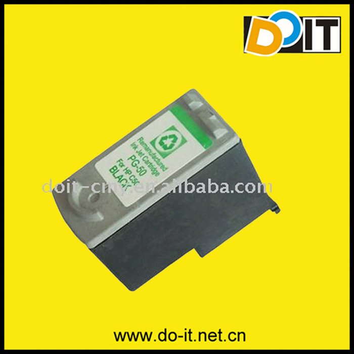 Ink Cartridge,Remanufactured Cartridge for PG-50 BK