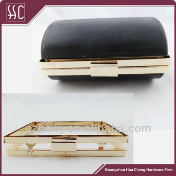 Metal Box Clutch Frame,Box Purse Frame Wholesale In Guangzhou - Buy ...