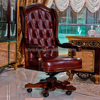 0061 High End Italy Executive Chair Boss Chair Luxury Office Chair