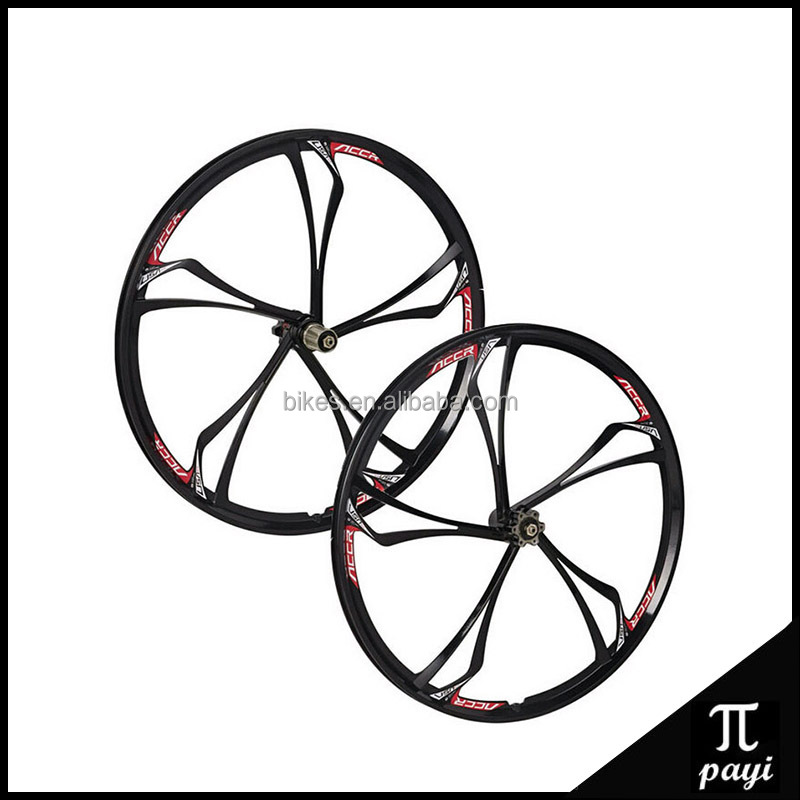 26 Inch Rims Magnesium Alloy MTB Bike 5 Spoke Rims Wheels Road Mountain Bicycle Wheels 700C Bike Mag magnesium alloy Wheel