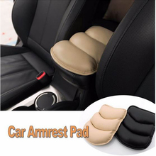 Car Auto Armrests Cover Vehicle Center Console Arm Rest Seat Box Pad Protective Case Soft PU Mats Cushion Universal