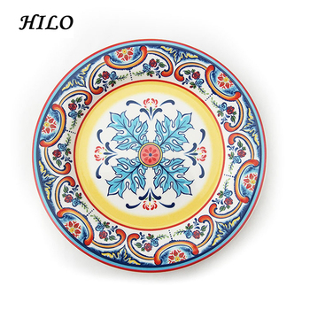 Hand Painted Decorative Arabic Style Dinner Plates  sc 1 st  Alibaba & Hand Painted Decorative Arabic Style Dinner Plates - Buy Dinner ...