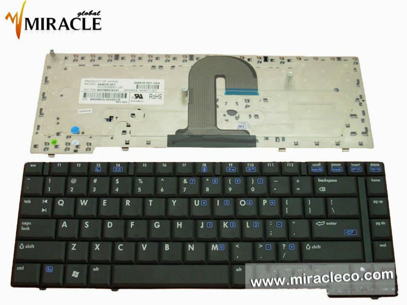 Notebook keyboard for HP COMPAQ 6710B 6715B Series