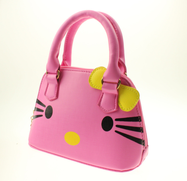 5659faea63 Buy Children  39 s bags Fashion Girls Hello Kitty handbags Kids cartoon  schoolbags Little girls mimi leather bags schoolbag for girls in Cheap  Price on ...