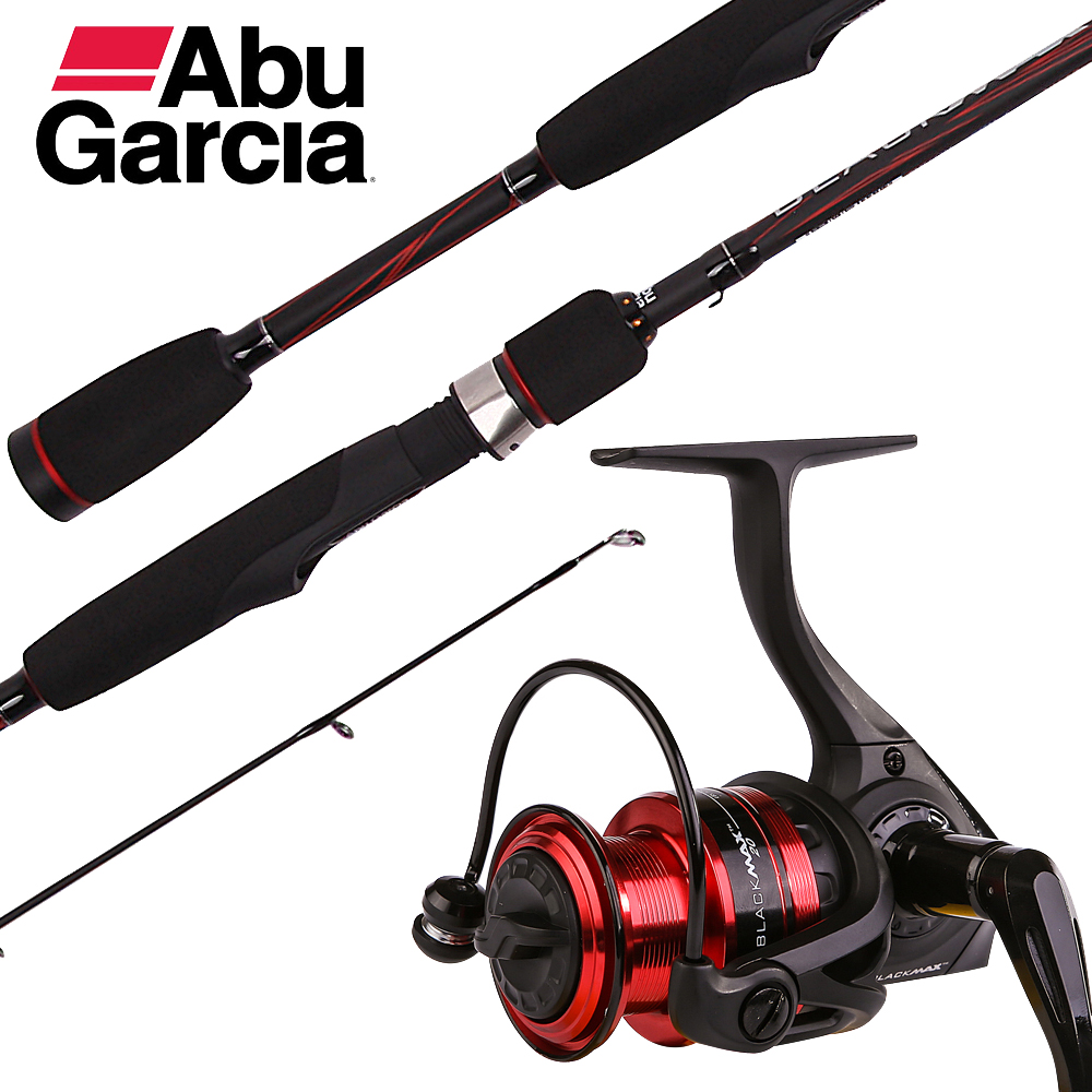Details about  /Abu Garcia Black Max Spinning Combo
