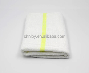 100% cotton white floor cleaning cloth