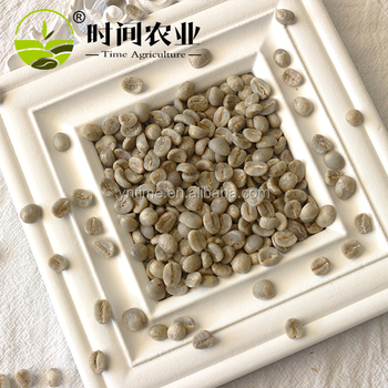 Organic Cultivation Type and Coffee Bean Type Yunnan Coffee Beans of grade A plus