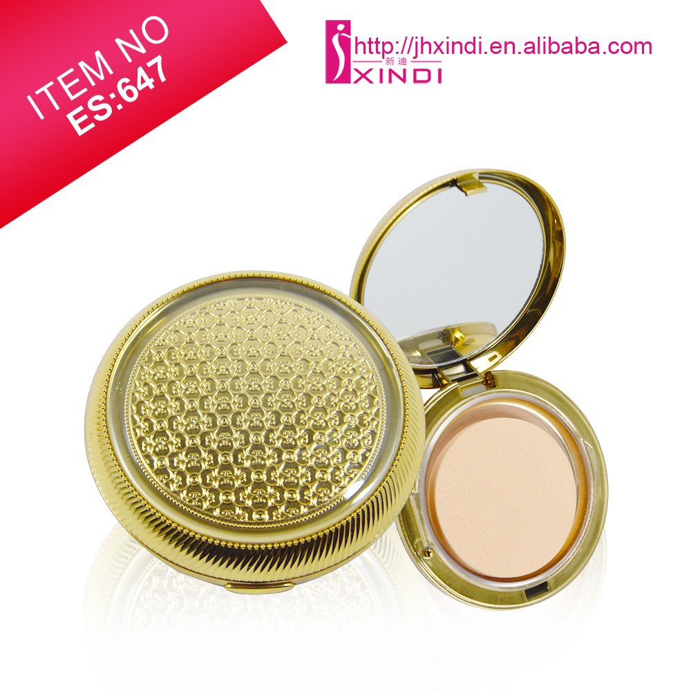2 In 1 Wet Mineral Foundation Concealer Bronzer Private Label Cruelty Free Powder Foundation