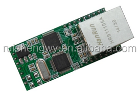 NNZN-TCP232-E TTL serial to Ethernet module 18-channel network IO serial server module