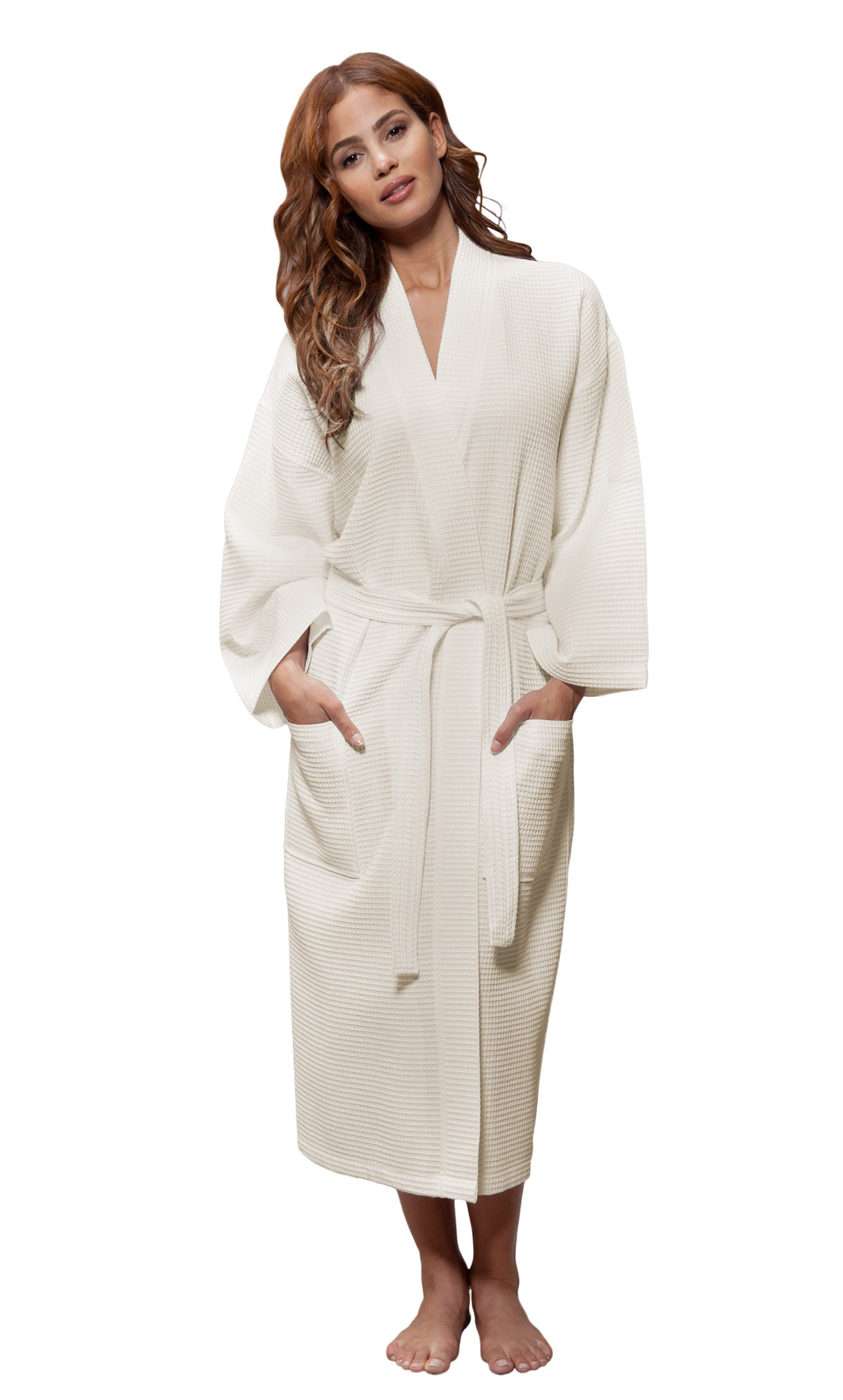 Luxury Bathrobes For Men Women 100% Pure Cotton Hooded Style Terry Towelling Lustrous Sleepwear & Robes Clothing, Shoes & Accessories