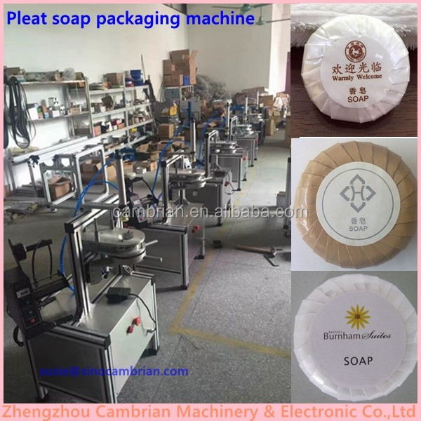 Manual bath hotel toilet round soap filter paper pleating machine