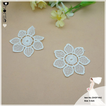 Cheap Embroidery 3d Flower Sew On Clothing Flower Dhdf1642 Buy