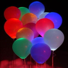 2017 Party Decoration Colorful Flash Led Balloon for wedding