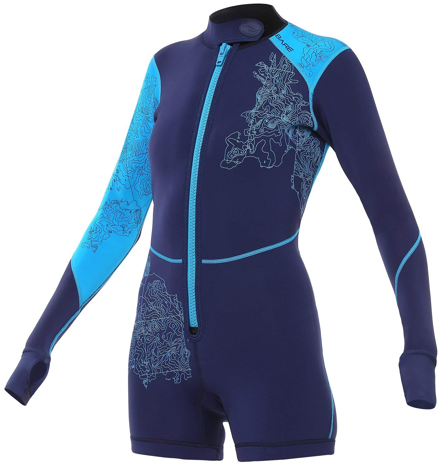 4b22e97790 Bare Women s Limited Edition 2mm Women s Shorty Wetsuit