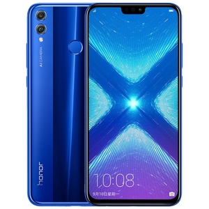 Image of Blue Huawei Honor 8X 4GB+64GB Online Shopping Smartphone 6.5 inch Android Huawei 4g Mobile Phones