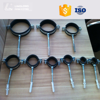 LINGLONG iron metal CLIP PIPE CLAMP pvc pipe clips & Linglong Iron Metal Clip Pipe Clamp Pvc Pipe Clips - Buy Pvc Pipe ...