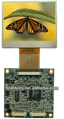 2.4 inch 4:3 480*234 Dots LCD Module with LED Backlight and Controller Board HT24TWD-GP024DL01